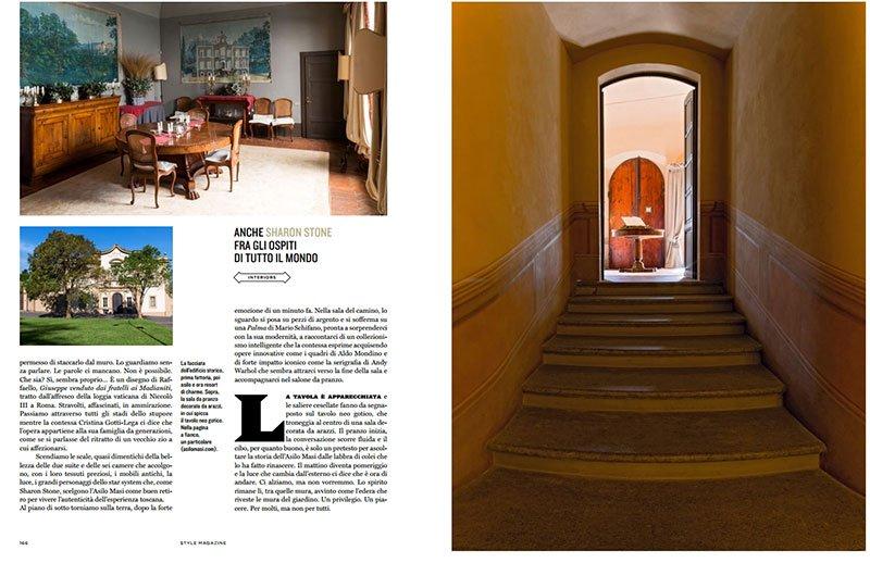 Pubblicazione Rizzoli - Style - Corriere della Sera