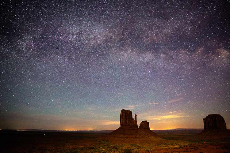 Great American Parks - Monument Valley, notturno