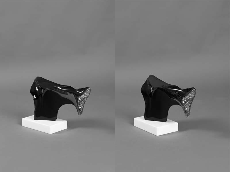 fotografare il marmo nero