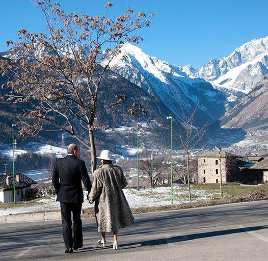 fotografia di matrimonio in Valle d'Aosta